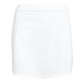 Alternate View 4 of Solid Perforated Stretch Golf Skort