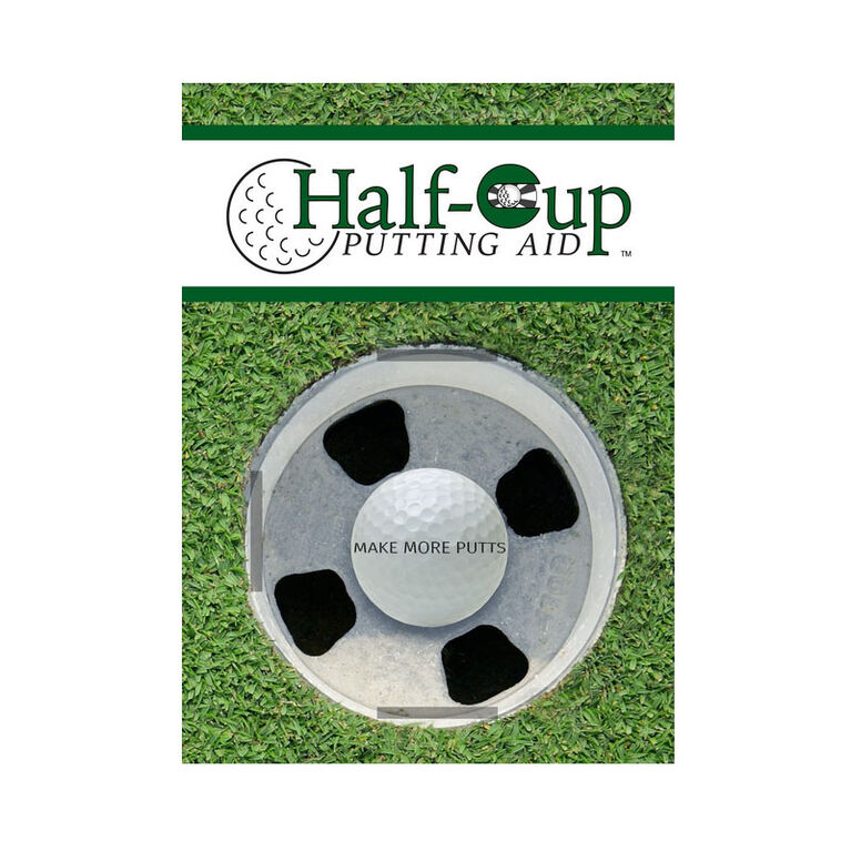 Half Cup Putting Aid