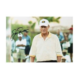 """Jack Nicklaus & Tiger Woods Autographed """"Match Play"""""""