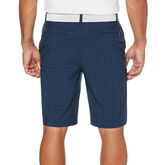 Alternate View 1 of PGA TOUR Heather Grid Flat Front Golf Short with Active Waistband