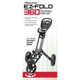 EZ-Fold 360 Collapsible Push Cart