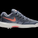 Alternate View 1 of Air Zoom Prestige Women's Tennis Shoe - Grey/Orange