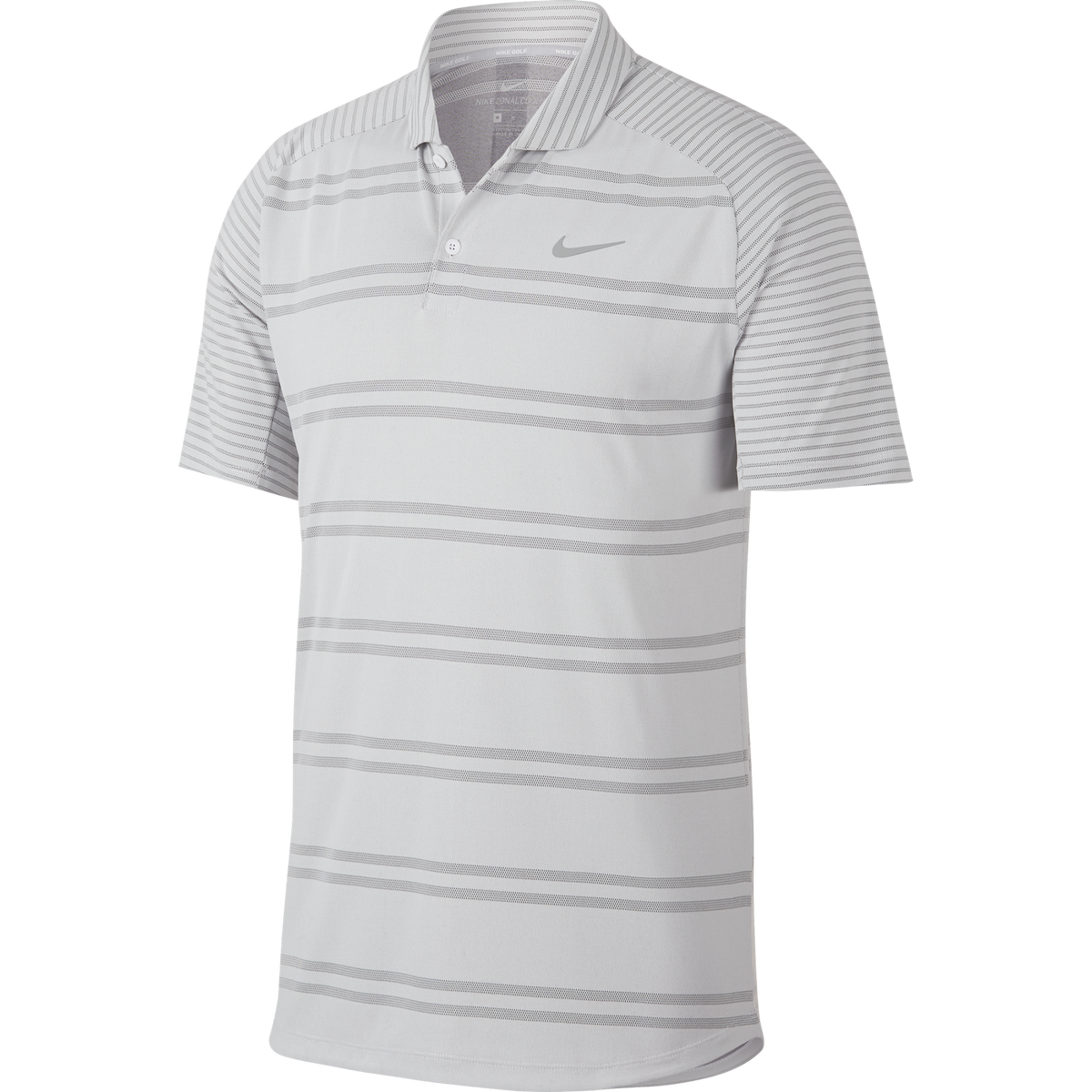 3dc64163d4 Nike Zonal Cooling Striped Polo   PGA TOUR Superstore