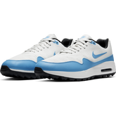Alternate View 4 of Air Max 1 G Men's Golf Shoe - White/Carolina Blue