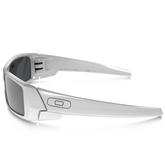 Oakley Gascan Sunglasses - White / Black Iridium