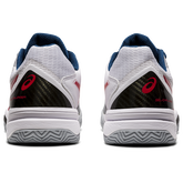 Alternate View 6 of Gel Challenger 12 Clay Men's Tennis Shoes - White/Red