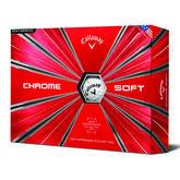 Callaway Chrome Soft Golf Balls (Prior Generation)