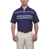 Short Sleeve Chest Stripe Polo