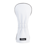 White Leather Driver Headcover
