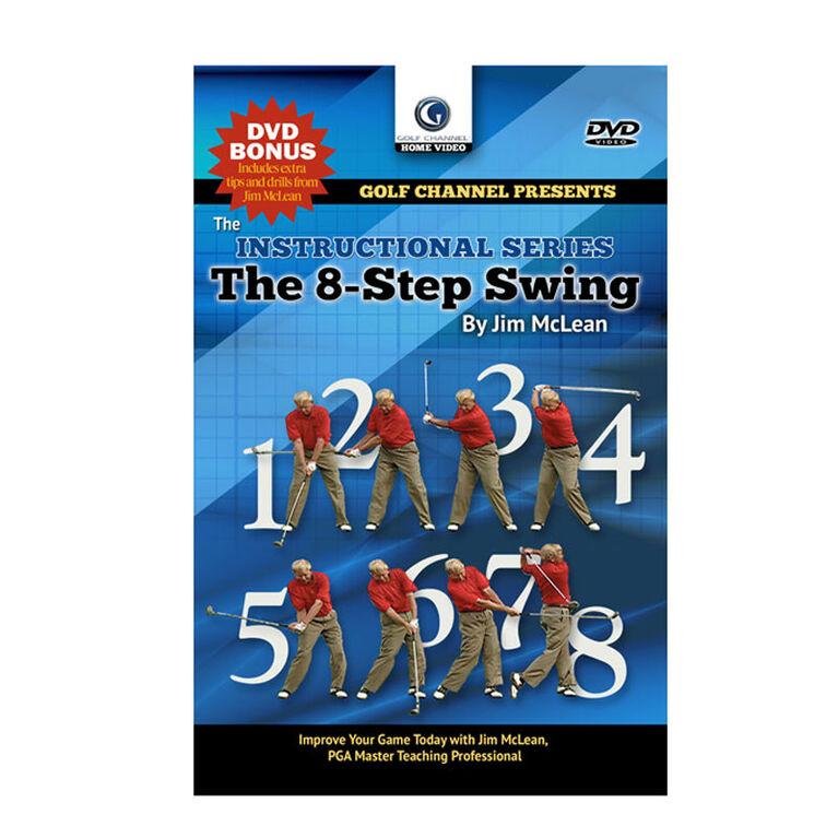 Jim McLean The 8-Step Swing DVD
