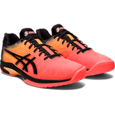 Alternate View 5 of Solution Speed FF Limted Edition Men's Tennis Shoe - Black/Orange