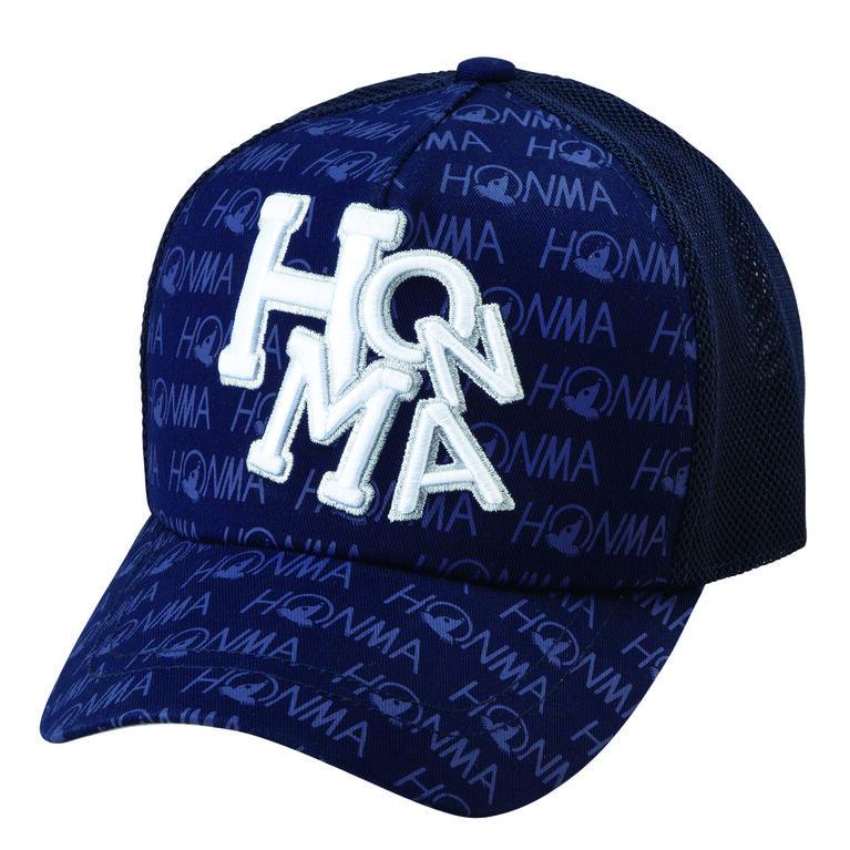 Honma Brand Pattern Mesh Hat
