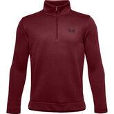 Boys' UA SweaterFleece ½ Zip Pullover