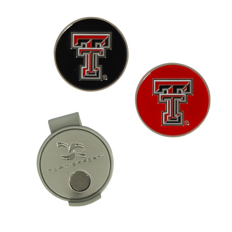 Team Effort Texas Tech Red Raiders Hat Clip