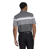 Alternate View 3 of Ultimate365 Engineered Heathered Polo Shirt