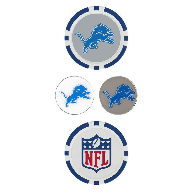 Team Effort Detroit Lions Ball Marker Set
