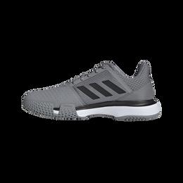 Courtjam Bounce Men's Tennis Shoe - Grey/Black