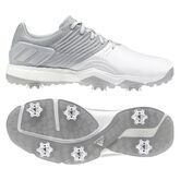 adidas adipower 4ORGED Men's Golf Shoe - Silver