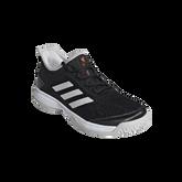 Alternate View 3 of Adizero Club Kids Tennis Shoe - Black/White