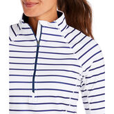 Alternate View 2 of Striped 1/2-Zip Pullover