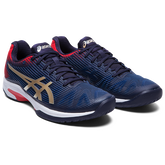 Alternate View 3 of Solution Speed FF Men's Tennis Shoes - Navy/Red