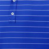 Lisle Double Pin Stripe Self Collar Polo