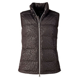 Cold Group: Leopard Print Vest