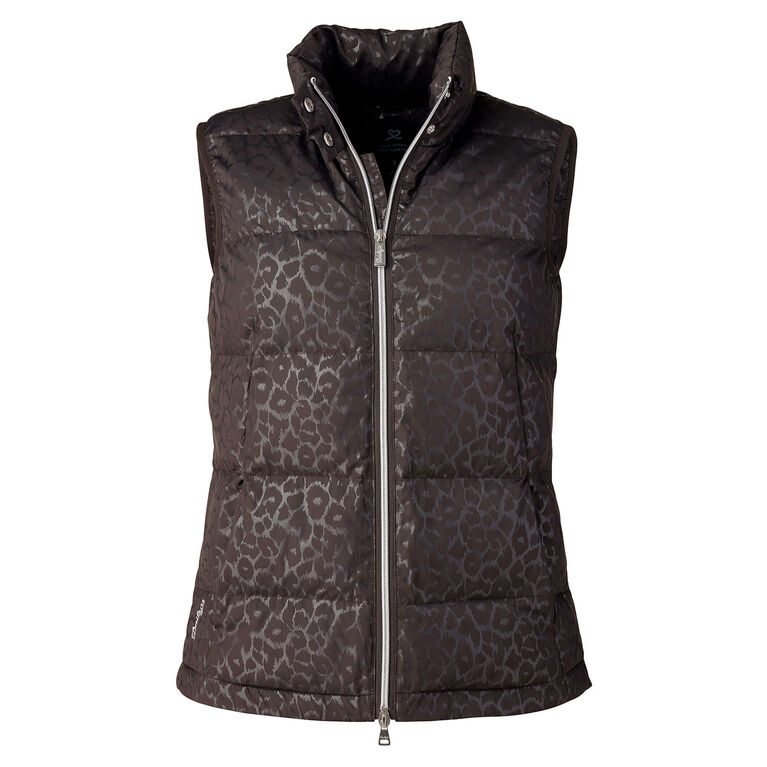 Cold Group: Leopard Print Vest