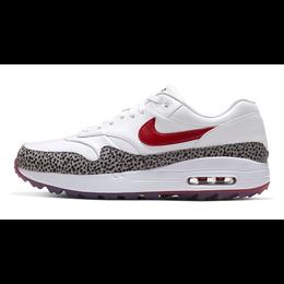 Air Max 1 G NRG Men's Golf Shoe - White/Red