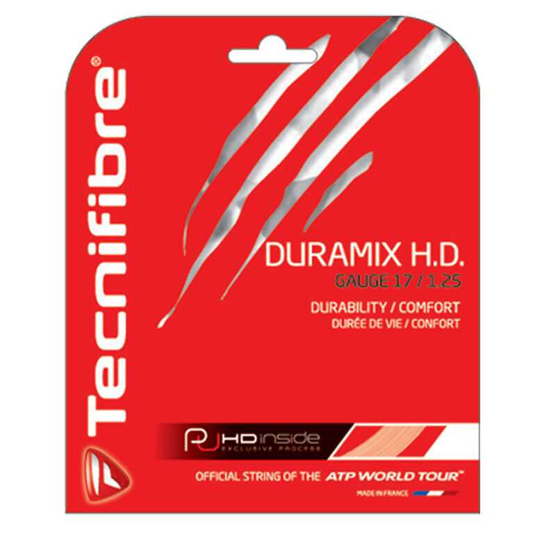 Tecnifibre Duramix 17 Gauge String Set - Natural