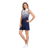 Alternate View 2 of Aspen Rays Collection: Fannie Sleeveless Cheetah Print Top