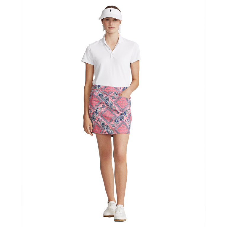 "Bandana Print 17"" Golf Skort"