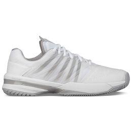 K-Swiss Ultrashot Men's Tennis Shoe - White/Grey