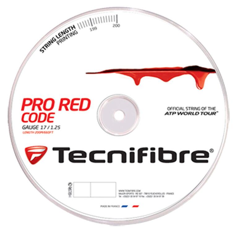 Tecnifibre Pro Red Code 17 Gauge String Reel - Red