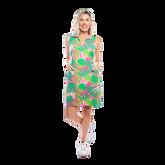St. Regis Sleeveless Palm Print Dress