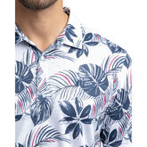 Alternate View 3 of All of The Above Short Sleeve Palm Leaf Polo