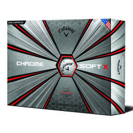 Callaway Chrome Soft X Golf Balls - Personalized