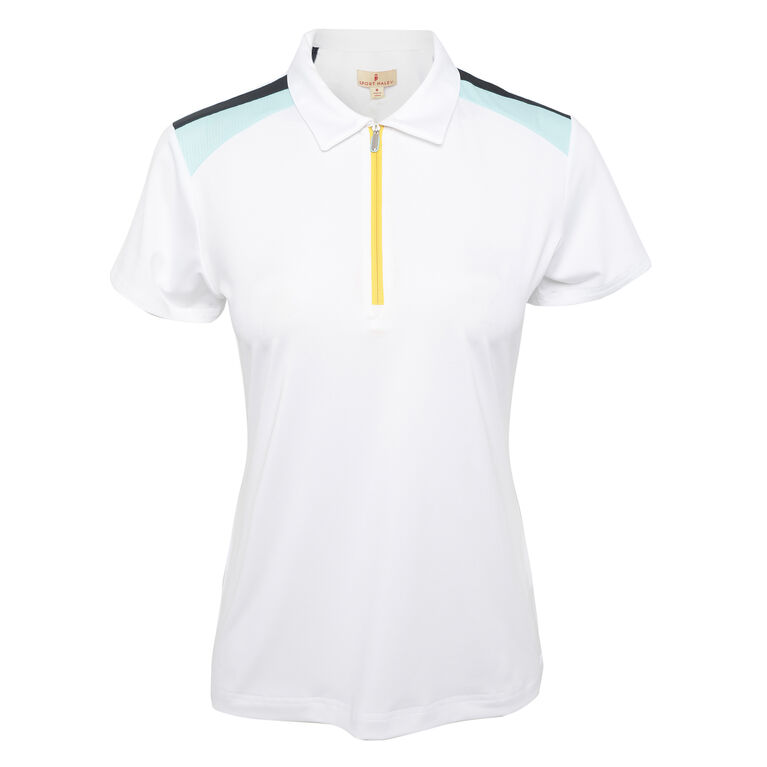 Pitch Perfect: Taylor Short Sleeve Polo