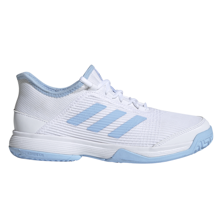 Adizero Club Kids Tennis Shoe - White/Blue