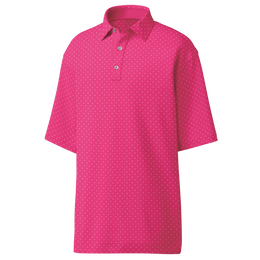 FootJoy Diamond Print Lisle Polo