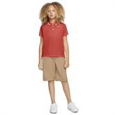 Alternate View 1 of Dri-FIT Victory Girls' Golf Polo