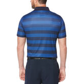 Alternate View 1 of Engineered Rugby Stripe Short Sleeve Polo Golf Shirt