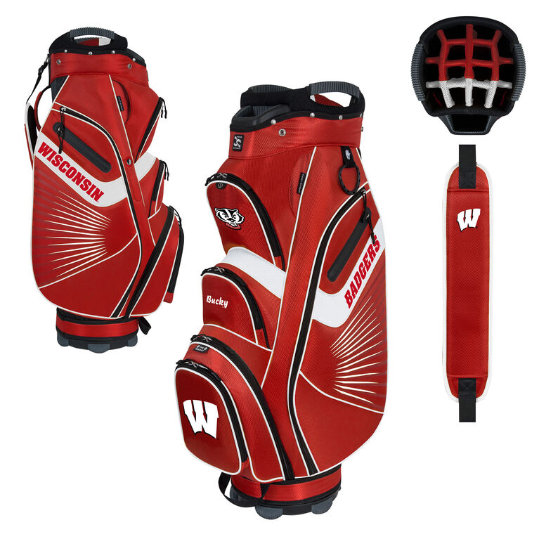 Team Effort Wisconsin Bucket II Cart Bag