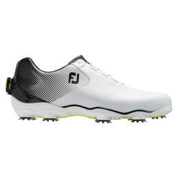 FootJoy D.N.A. Helix BOA Men's Golf Shoe - White/Black