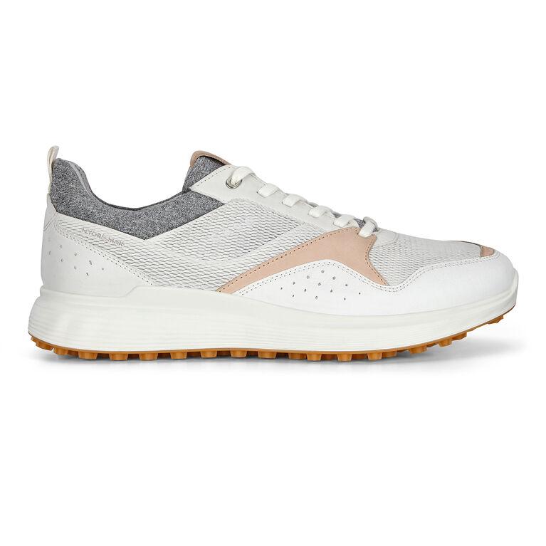 S-Casual Men's Golf Shoe - White/Tan