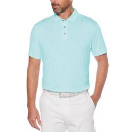 Slub Short Sleeve Golf Polo Shirt