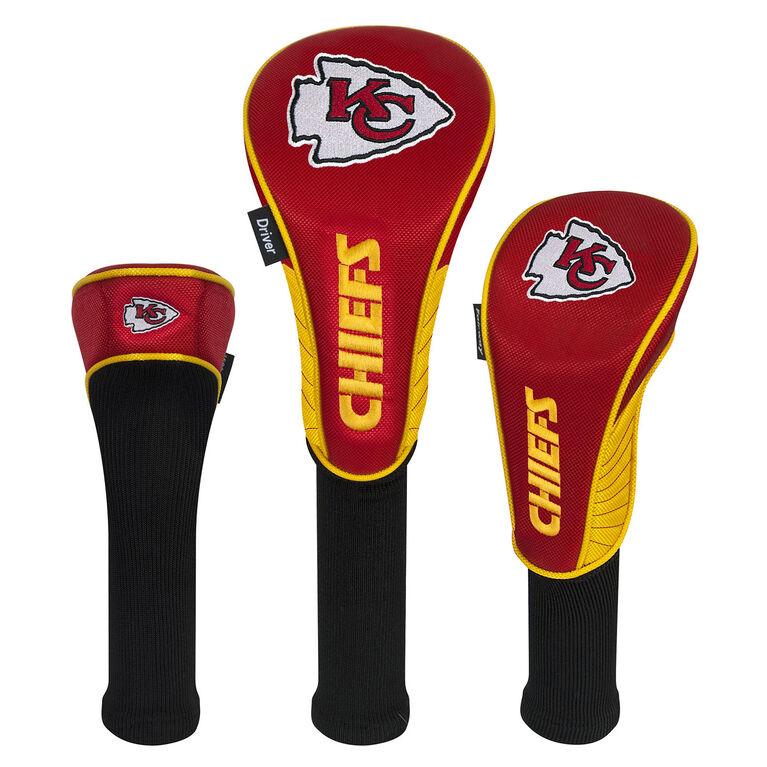 Team Effort Kansas City Chiefs Set of 3 Headcovers