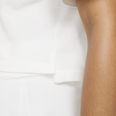 Alternate View 3 of Short Sleeve Cropped Polo Shirt