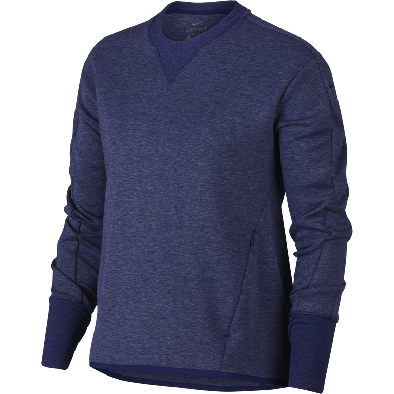 Long Sleeve Crewneck Golf Top