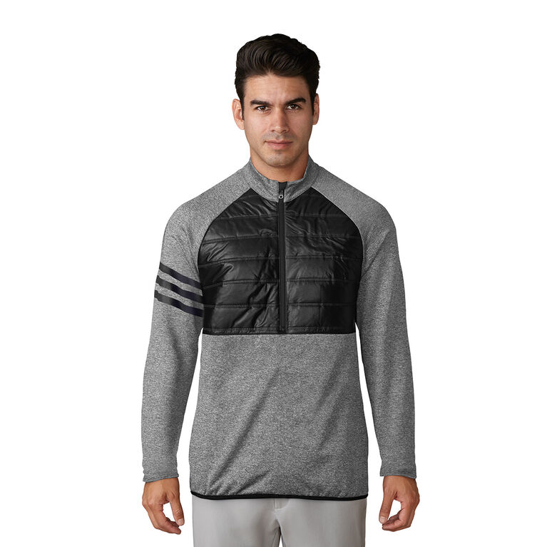 adidas climaheat Competition Quilted 1/4 Zip Pullover